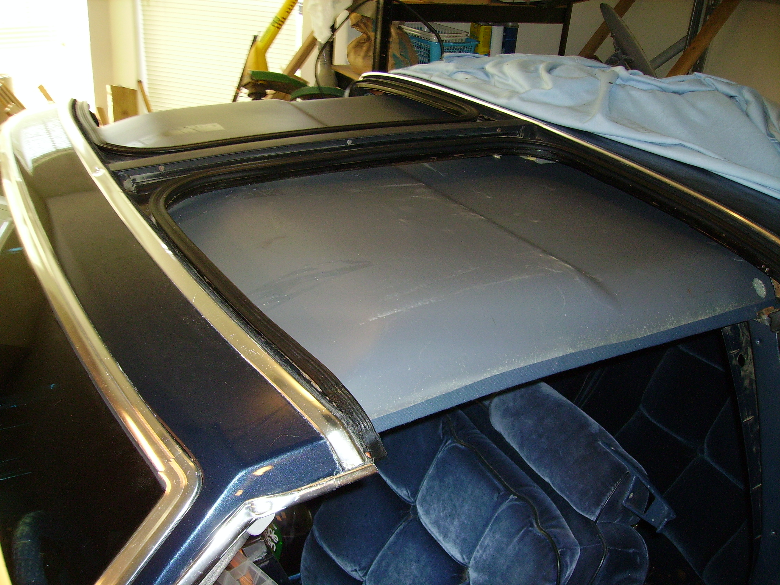 How To Repair Car Headliner With Holes