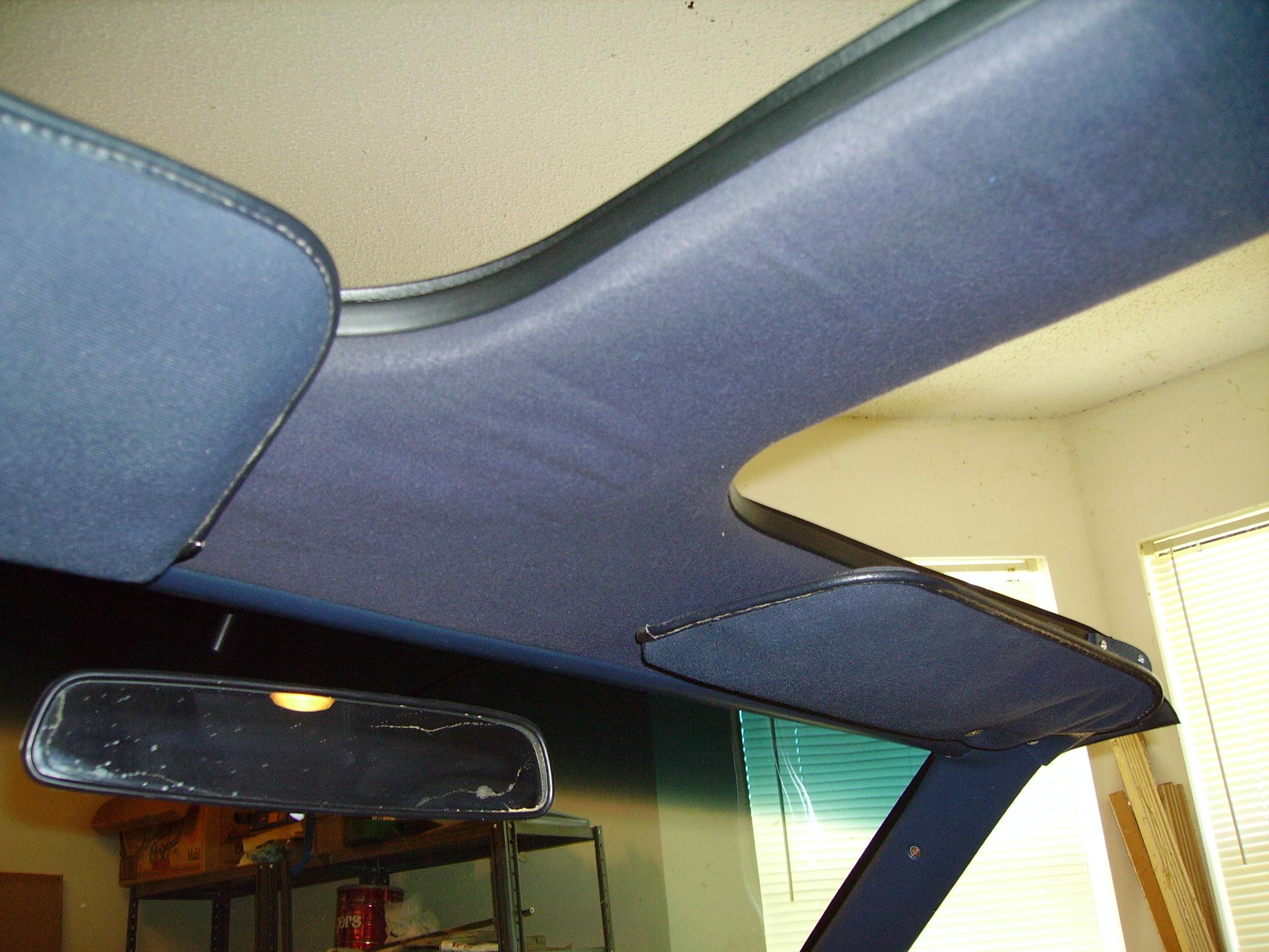 Cars & Concepts T-Top Headliner Repair