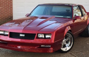 1987 Monte Carlo SS - A stance to die for with the wide tires and added flares.