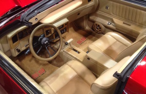 1987 Monte Carlo SS - T-tops open to reveal the custom interior