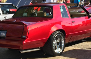 1987 Monte Carlo SS - Getting attention at the show