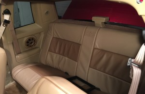 1987 Monte Carlo SS - Custom upholstery and speaker panels.
