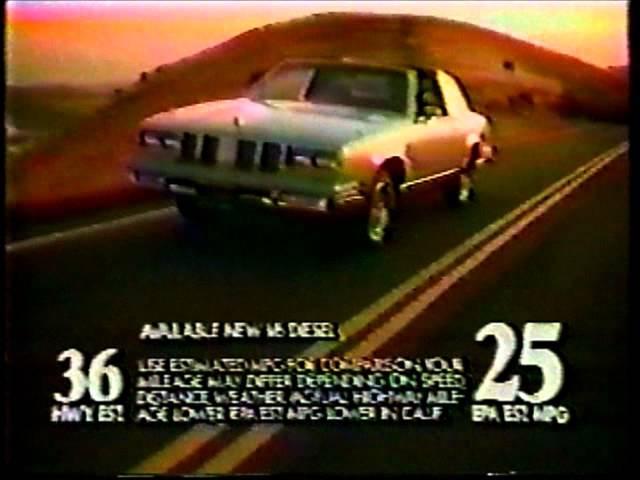 1982 Cutlass Supreme TV Spot