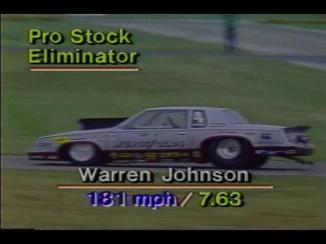 1984 NHRA US Nationals Pro Stock Finals