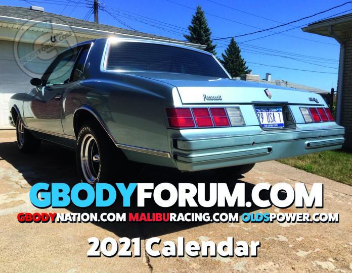 2021 G-Body Calendar
